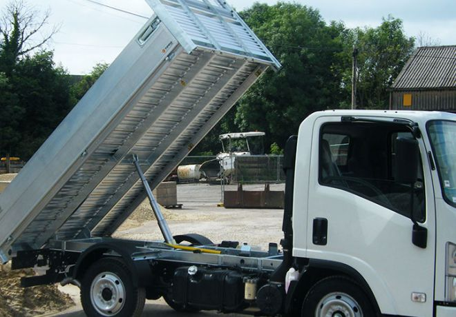 Alloy Tipping Body for Truck Manufacturer 1