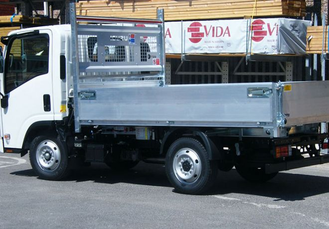 Alloy Tipping Body for Truck Manufacturer 2